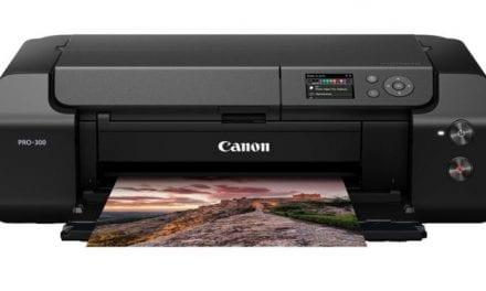 Canon Debuts imagePROGRAF PRO-300 Desktop Printer