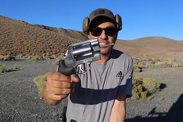 No Barrel 500 Smith & Wesson