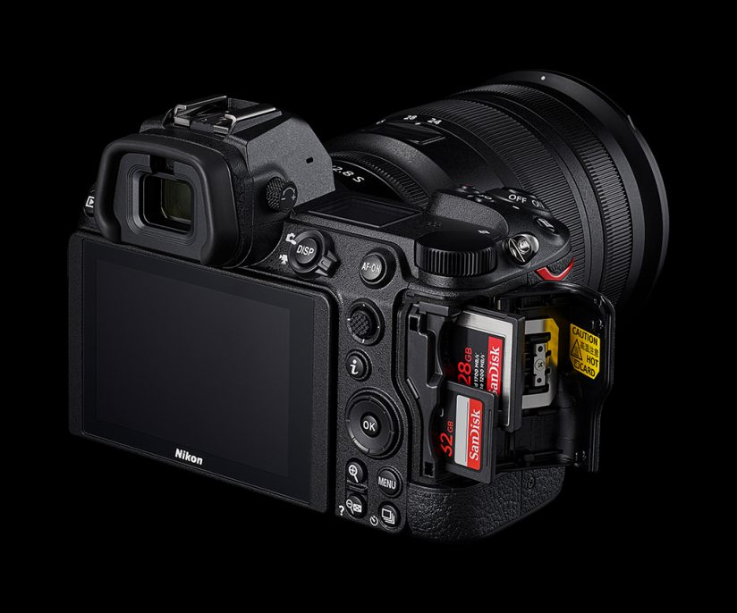 Nikon Z 6II card slots