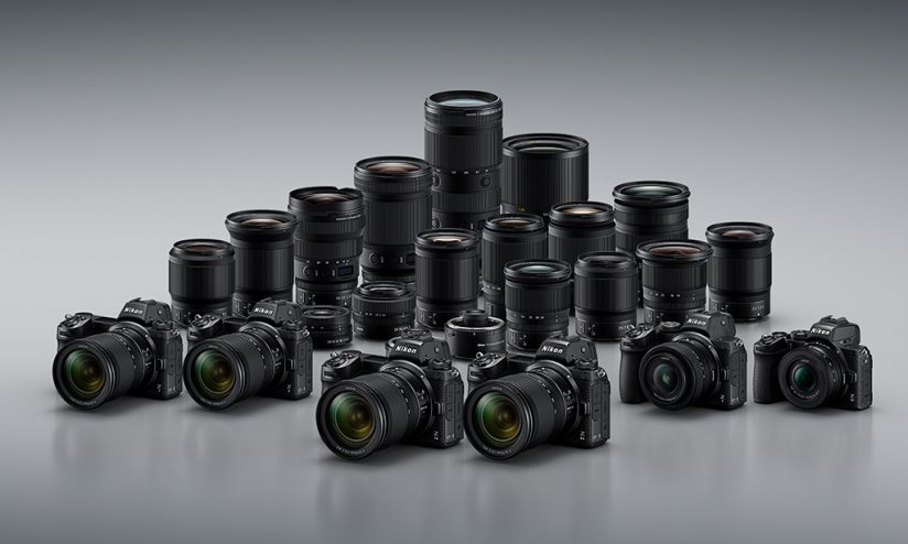 Nikon Z system cameras and lenses