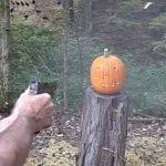Pumpkin Carving the Fun Way: With a Sig Sauer M17
