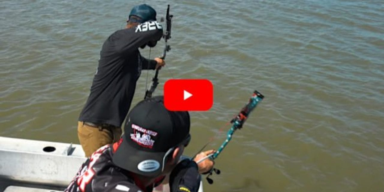 "Tim Wells Channels His Inner ""Quint"" on Shark Bowfishing Adventure"