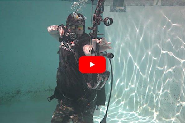 Compound Bow Underwater