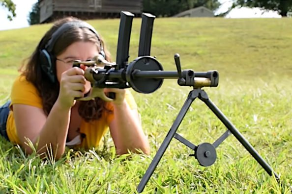 The Twin-Barreled Villar Perosa Machine Gun is an Oddity of World War I