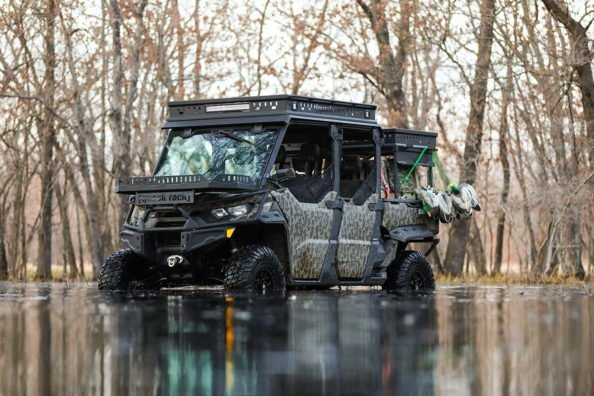 Can-Am Builds a Defender MAX into the Total Waterfowl UTV