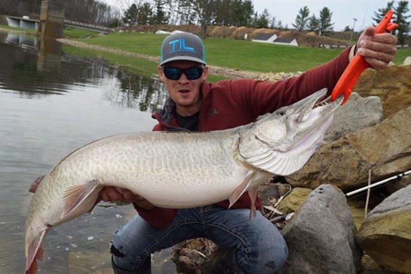 Flashback to the Ohio Man Who Caught a 55-Pound, 13-Ounce Muskie