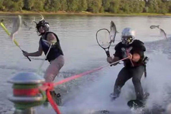 Sporting Goods Make for Handy Tools Against Asian Carp