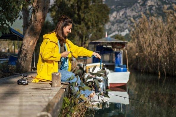 fishing jacket for women