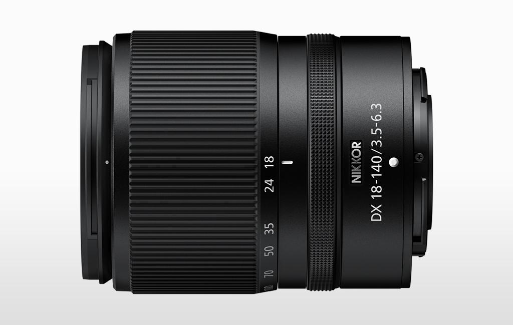 Product image of the NIKKOR Z DX 18-140mm f/3.5-6.3 VR